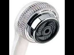 waterpik remove water saving restrictor from shower head for more water pressure you