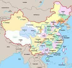 خريطة الصين بالتفصيل – موقع زيادة