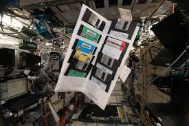 The International Space Station Is Full Of Floppy Disks