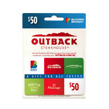 outback gift card balance