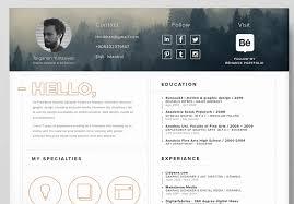 Graphic Design Resume Template Jmckell Com