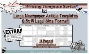 Newspaper Article Template For Pages Newspaper Article Templates 8 5x14 Legal Size Editable In Ms Word