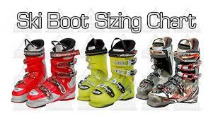 Mondo Size Conversion Chart Ski Boot Mondo Sizing Chart Complete Outdoors Nz