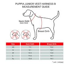 Puppia Junior Harness B X Large Black Buy Online See
