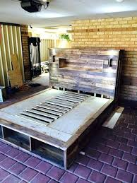 do it yourself pallet furniture.  Pallet Do It Yourself Pallet Furniture Ideas Bed With  Headboard And Lights Best For Do It Yourself Pallet Furniture