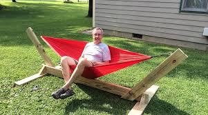 brilliant diy hammock stand brackets ideas wooden hammock stand ideas
