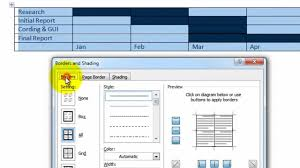 How To Create A Chart On Word How To Make A Gantt Chart In Word Kozen Jasonkellyphoto Co