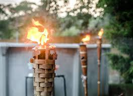 outdoor torch lighting. image of tiki torch stand outdoor lighting u