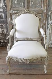 french chair upholstery ideas. antique french chair in homespun linen from full bloom cottage upholstery ideas h