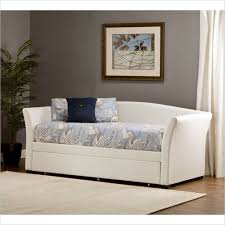 white leather daybed. Plain Leather Homelegance Milan White Leather Daybed Lifestyle 2 On