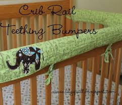 Crib Rail Cover Pattern New Design