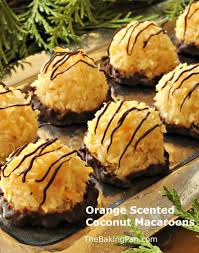 recipe type dessert shaped cookies coconut chocolate
