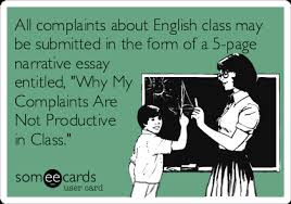 all complaints about english class be submitted in the form of all complaints about english class be submitted in the form of a 5 page
