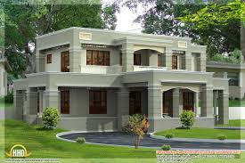 Square House Roof Design 4 Different Style India House Elevations 2 Storey House