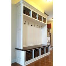 Stunning How To Build A Mudroom Bench With Cubbies Also How To Build A  Mudroom