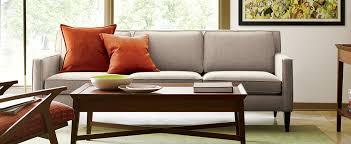 Shop Rochelle Sofa, Bradley Walnut Coffee Table With Drawers, Brenner Rust  Orange 20