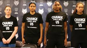 WNBA fines three teams and players for wearing <b>Black Lives Matter t</b> ...