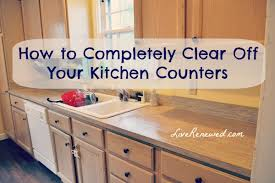 kitchen counter. Are Your Kitchen Counters Cluttered And Messy? You Will Be Amazed At How  Much Better Counter S