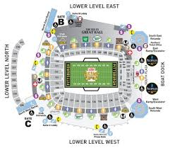 View The Heinz Field Seating Charts And Stadium Diagrams To