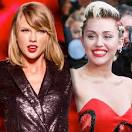 Taylor swift with miley cyrus 2017