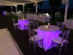 Under Table Lighting Under Table Lighting Jlk Events Hilton Head Savannah