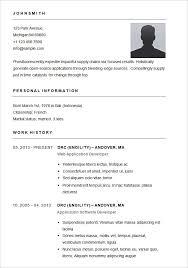 Basic Resume Template Free Enchanting Resume Template Resume Samples Format Free Download Sample Resume