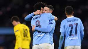 Phil Foden scores dramatic late goal to give Manchester City first-leg win  over Borussia Dortmund - Eurosport