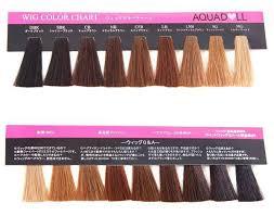 Aquador Wig Color Chart Wgcc001 Wig Color Chart Cosplay Wick Wig Or Wigs Hair