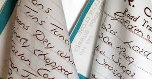 How to Turn Your <b>Handwritten</b> Recipes Into Heirloom Tea Towels ...