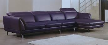 purple furniture. Purple Leather Furniture Releve Italian Top Grain Modern Sectional Set