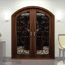 arched glass doors arch cellar double door full glass ironwork arched glass cabinet doors