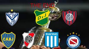Los equipos argentinos clasificados a la Copa Libertadores 2021 - YouTube