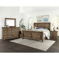 Vaughan Bassett Rustic Hills Queen Bedroom Group - Item Number: 682 Q  Bedroom Group 3