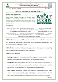 whole foods resume