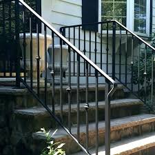 exterior wrought iron stair railings. Plain Railings Iron Stair Railing Cost Wrought  Exterior Railings  Intended Exterior Wrought Iron Stair Railings T