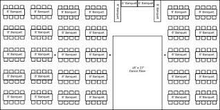 banquet table layout generator 40 x 80 w banquet tables buffet dance floor super stuff
