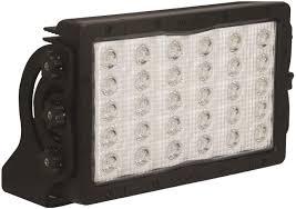 Rectangular Led Flood Lights Amazon Com Vision X Lighting 9112817 Pitmaster Black Wide
