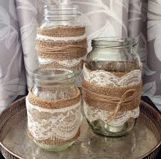 Decorating With Mason Jars And Burlap How To Make Burlap Mason Jars Mason Jar Crafts 13