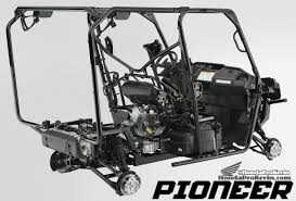 2018 honda pioneer. wonderful 2018 detailed 2016 honda pioneer 1000 u0026 10005 frame suspension engine  pictures  in 2018 honda pioneer