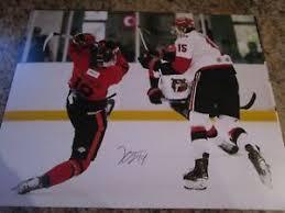 KENT JOHNSON SIGNED 8 X 10 MATTE PHOTO TRAIL SMOKE EATERS (B) 2021 NHL  DRAFT | eBay