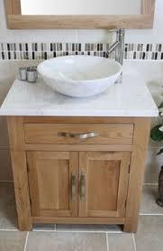 bowl bathroom sinks. Solid Oak Bathroom Vanity Unit Basin Floor Cabinets Marble Bowl Sink Tap \u0026 Plug Sinks