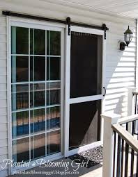 replacement sliding patio door screen. sliding screen door barn track , planted and blooming girl replacement patio i