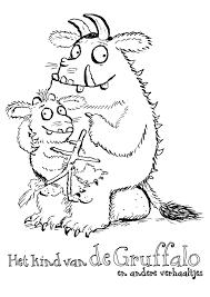 Bildergebnis Für Kleurplaat Gruffalo Monster Grüffelo