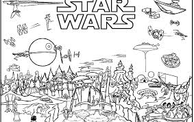 Free Star Wars Coloring Pages For Kids Great Free Clipart