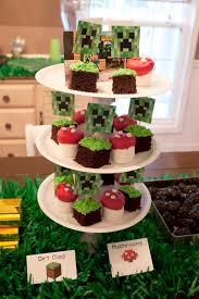 Minecraft Party Ideas Diy Boys Homemade Birthday Cake Walmart Bakery
