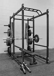 Portable Bench PressSquat Stands  York 48057Squat And Bench Press