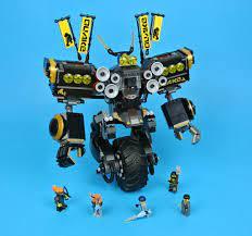 Review: 70632 Quake Mech | Brickset: LEGO set guide and database