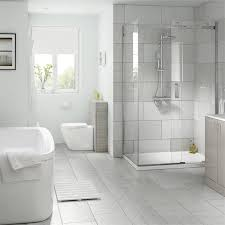 classico light grey wall and floor tile