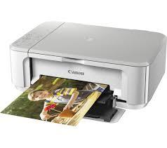 canon pixma mg3650 all in one wireless inkjet printer white
