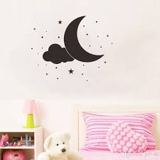 cloud wall vinyl stickers removable ins